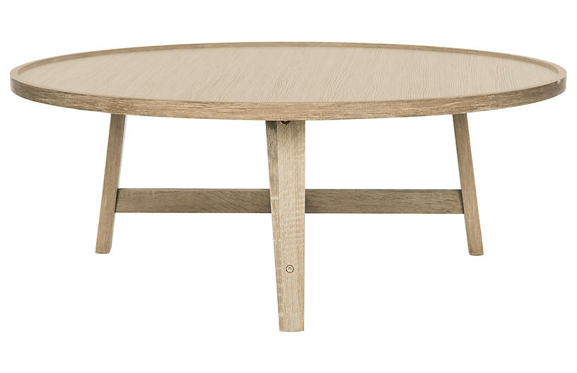 Jonna Midcentury Coffee Table - Natural