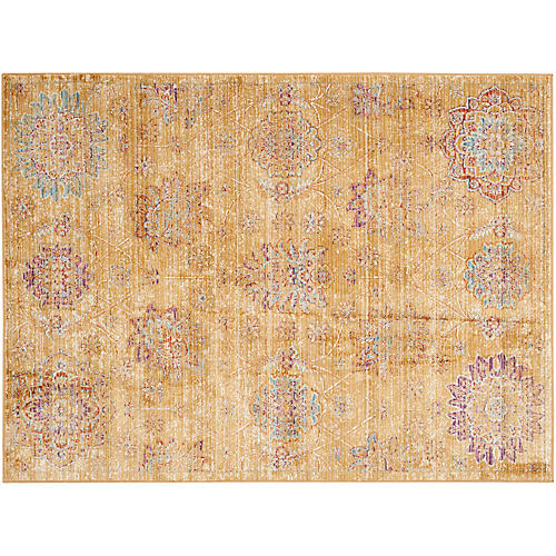 Yona Rug, Gold/Multi