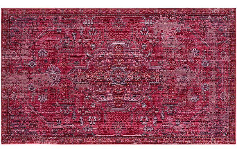 Calumet Rug, Red/Multi