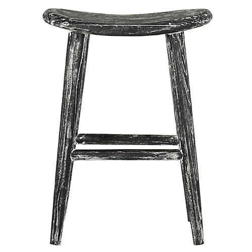 mayfair counter stool blackwhite