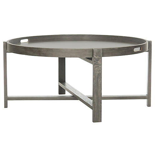 Briggs Coffee Table, Dark Gray