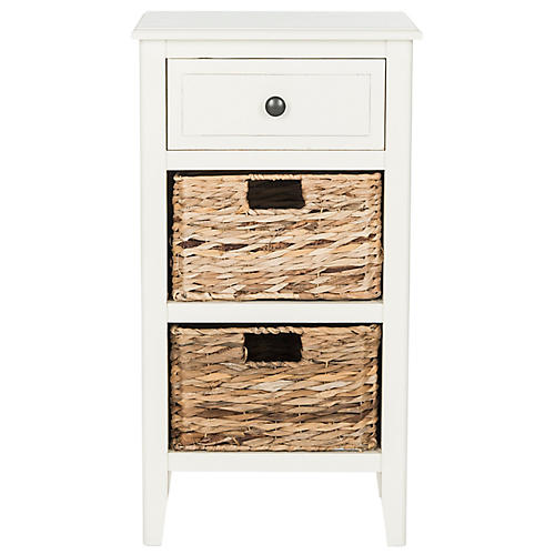 Everly Nightstand, White