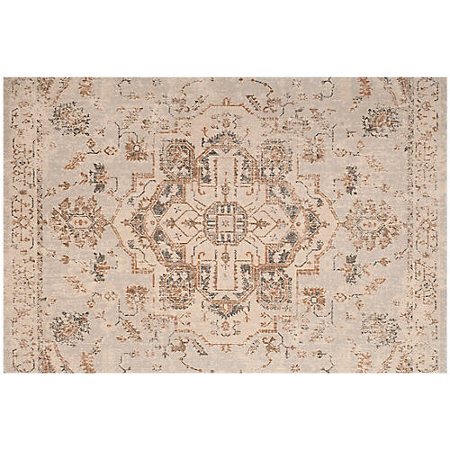 Saltus Rug, Light Blue/Beige
