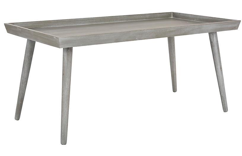 Carter Coffee Table, Slate Gray