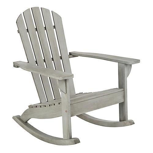 Brizio Adirondack Chair, Gray