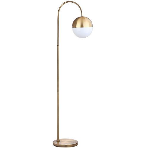 Aurora Floor Lamp, Gold