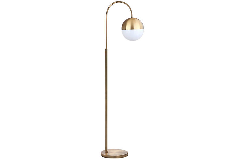Aurora Floor Lamp, Gold