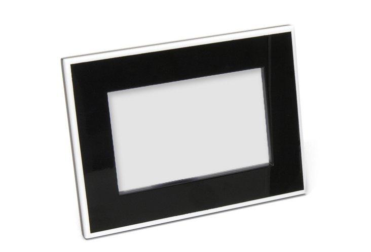 Elle Lacquer 4x6 Frame, Black