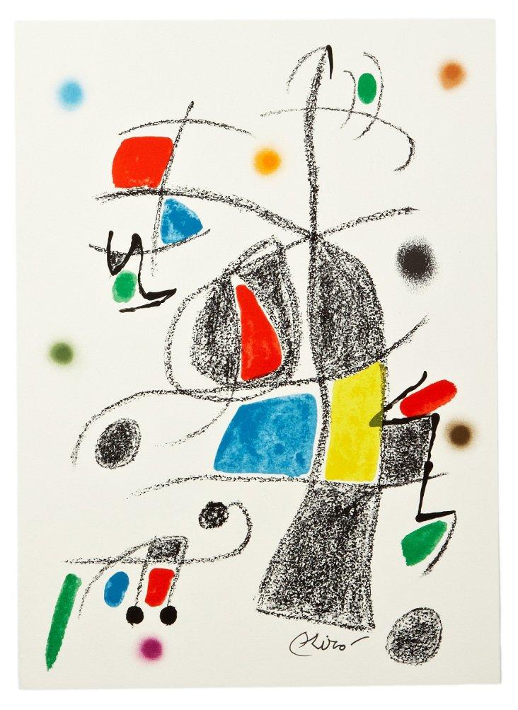 Joan Miró, Variaciones Acrósticas VIII