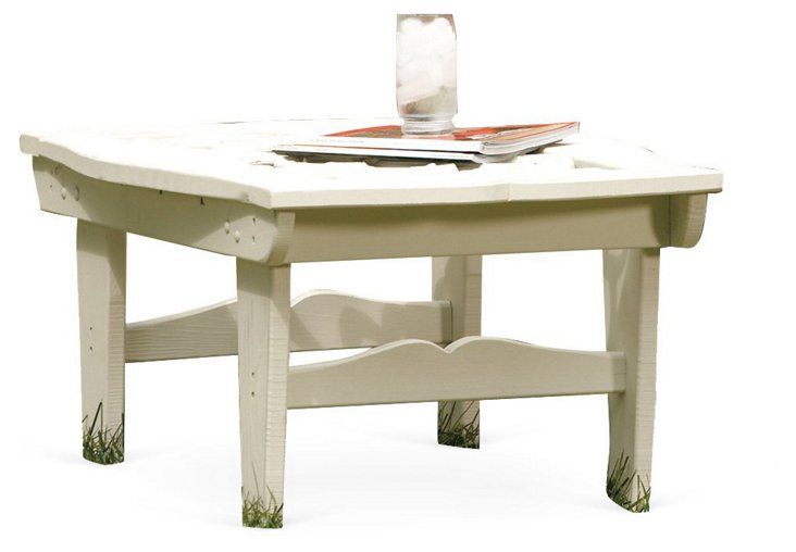Veranda Cocktail Table, White