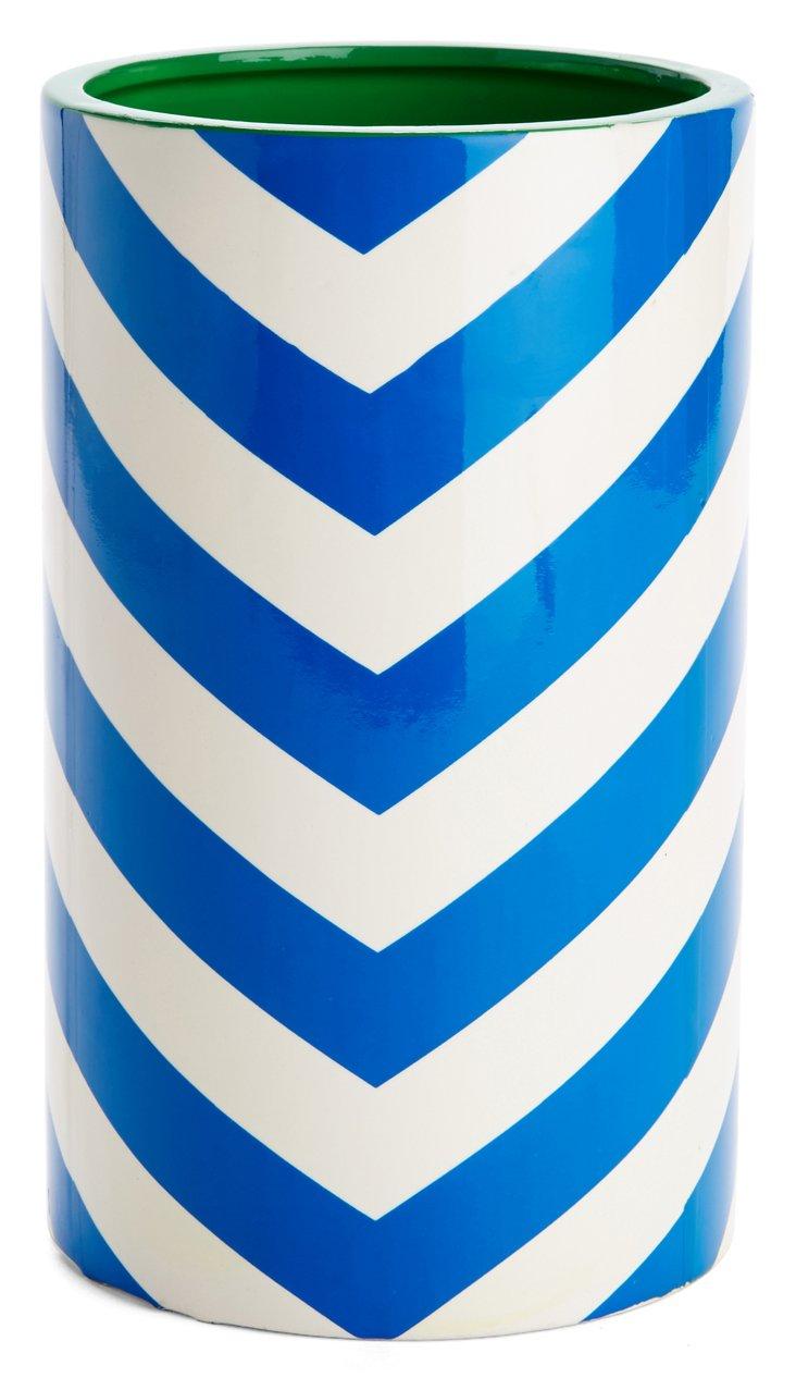 """12"""" Chevron Vase"""
