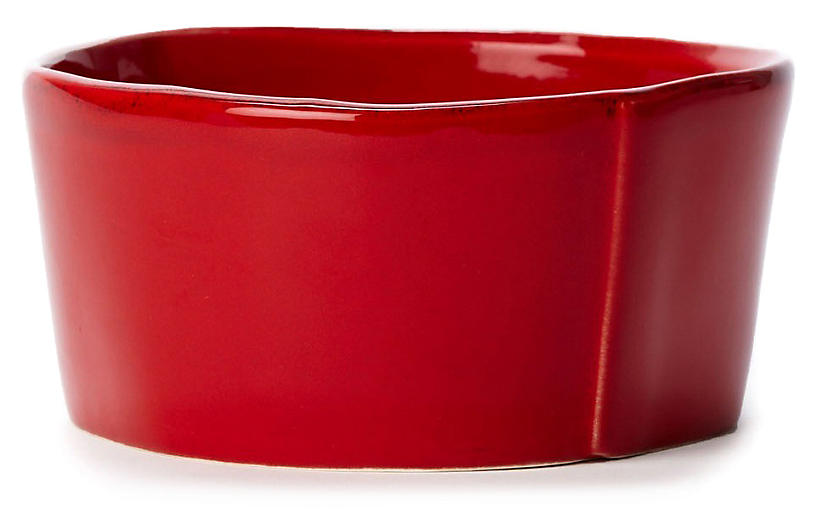 Lastra Red Cereal Bowl