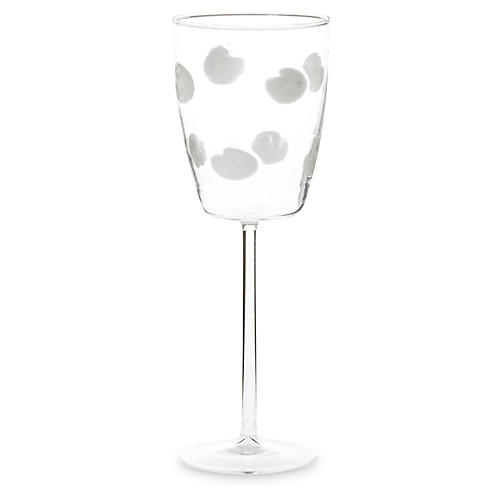 Drop Wineglass, Clear