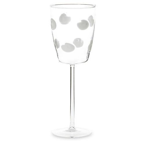 Drop Wineglass, Clear