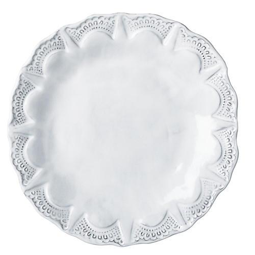 Incanto Lace Salad Plate, White