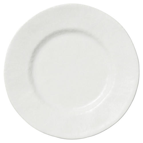 Lace Dinner Plate, White