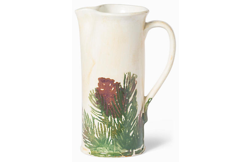 Foresta Pitcher - Ivory - VIETRI