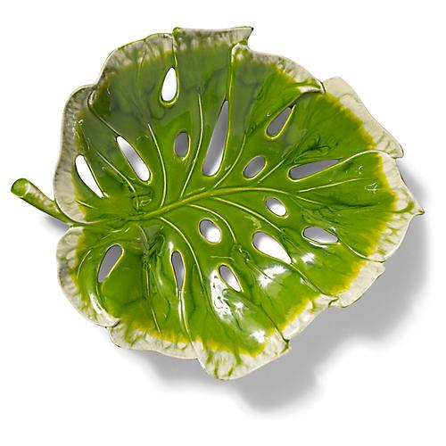 Reactive Leaf Centerpiece, Green