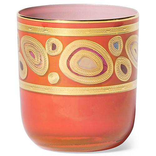 Regalia DOF Glass, Orange/Multi