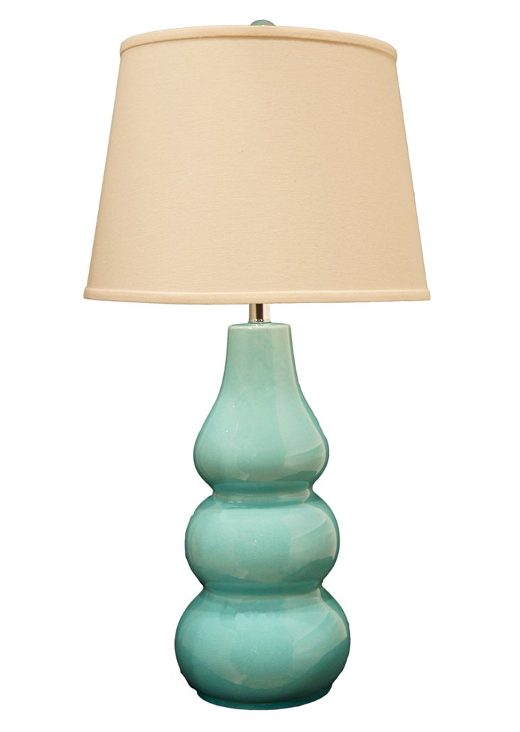 Epic Table Lamp, Turquoise