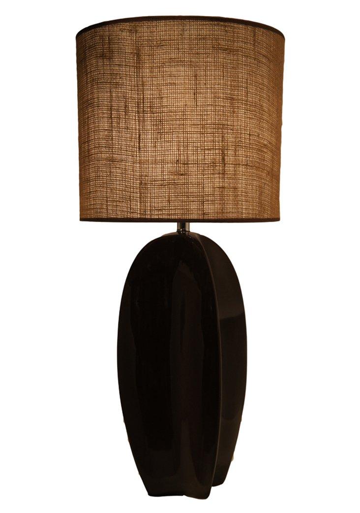 Palma Table Lamp,  Espresso