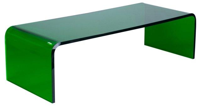 Preston Cocktail Table, Emerald