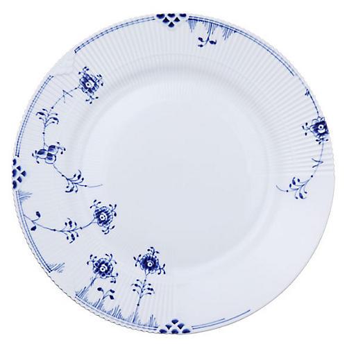 Elements Dinner Plate, Blue