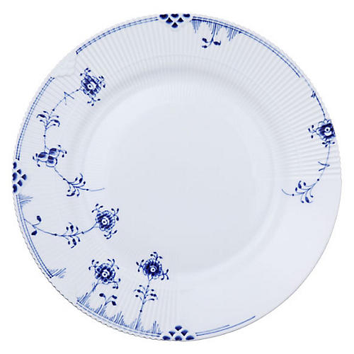 Elements Dinner Plate, Blue