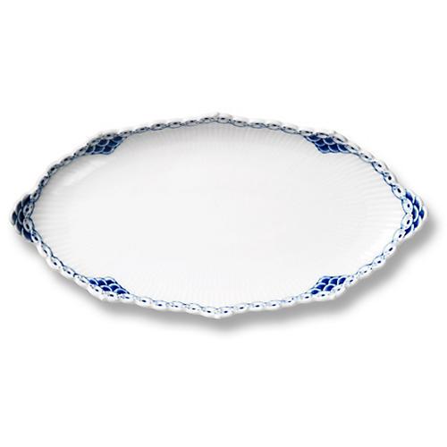 Princess Oval Accent Dish