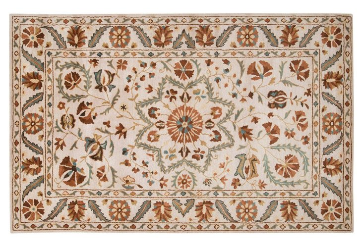 Universal Rug, Ivory/Clay