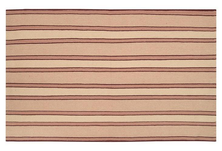 Wilder Flat-Weave Rug, Apricot