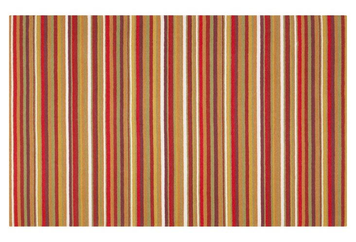 Sag Harbor Rug, Red/Multi