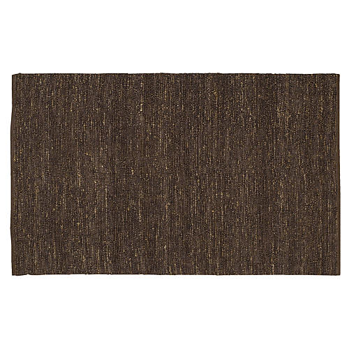 Continental Jute Rug, Brown