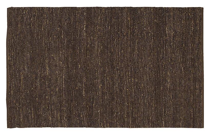 Continental Jute Rug, Brown