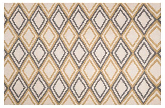Rhea Flat-Weave Rug, Multi