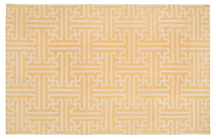 "2'6""x8' Archive Runner, Yellow"