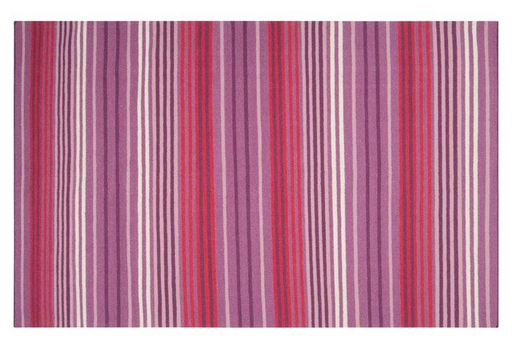 Parkrose Rug, Berry/Plum