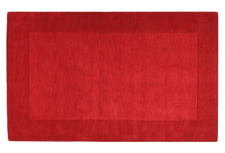 Lombard Rug, Cherry/Carmine