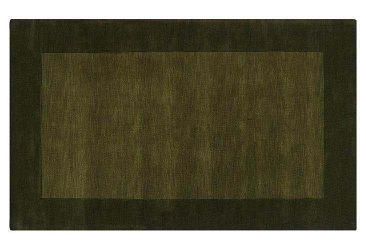 Lombard Rug, Pine Green