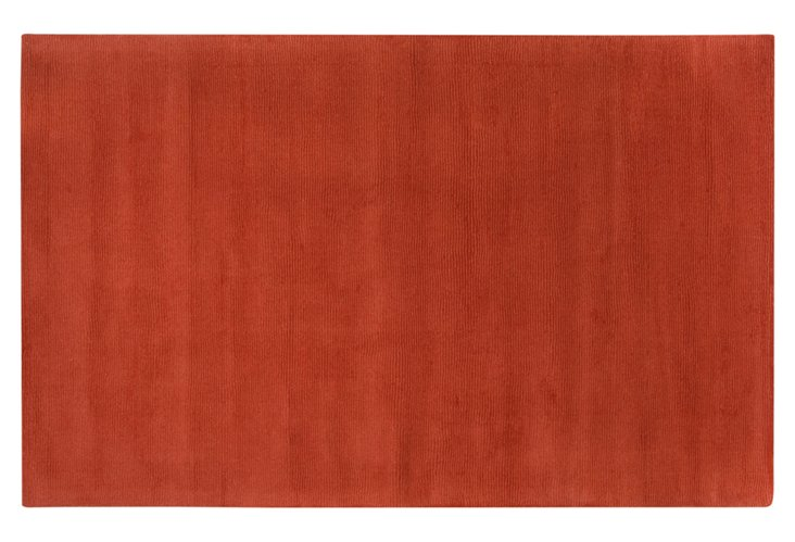 "2'6""x8' Bagley Runner, Rust Red"