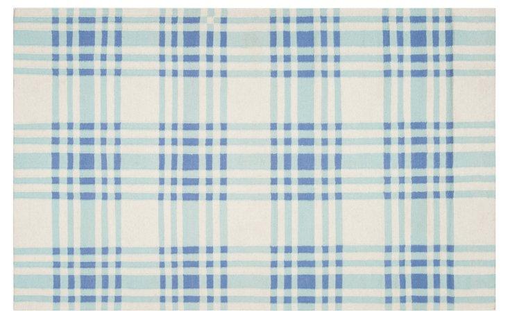 Bria Flat-Weave Rug, Blue