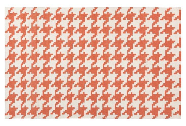 Duckett Flat-Weave Rug, Paprika
