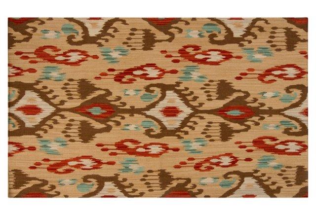 Millie Flat-Weave Rug, Desert Sand