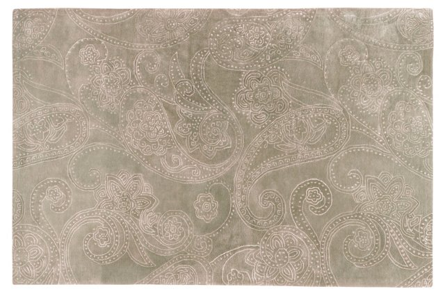 Erebos Rug, Dried Oregano/Gray