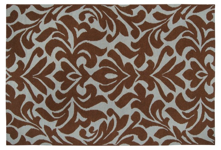 Ophion Rug, Brown/Stormy Sea