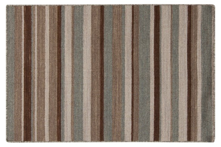 Peter Flat-Weave Rug, Multi