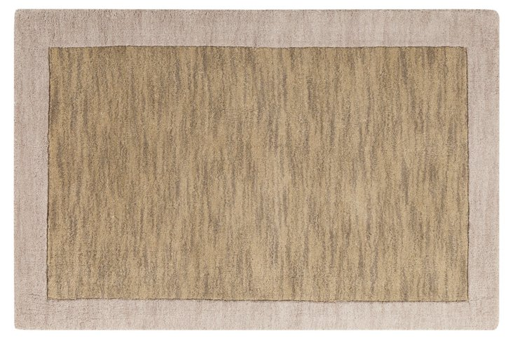 Caelum Rug, Safari Tan/Parchment