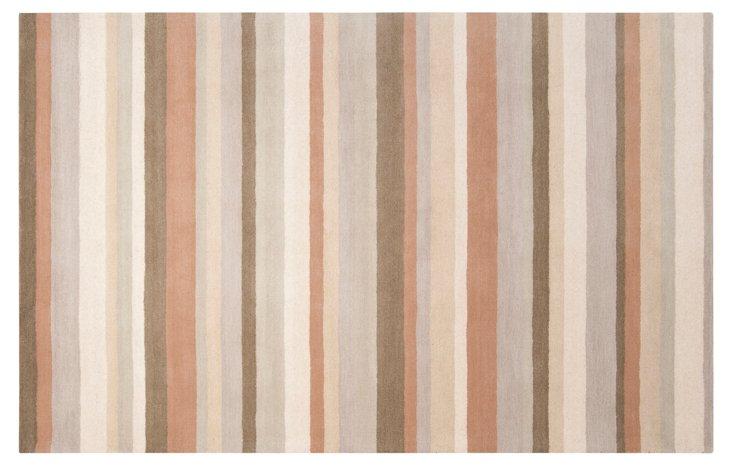 8'x10' Pavo Rug, Parchment/Multi