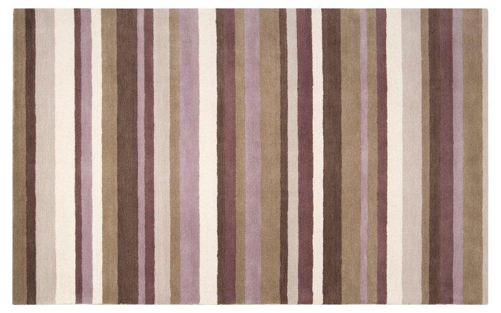 8'x10' Pavo Rug, Dark Brown/Multi