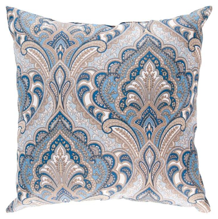 Tess 18x18 Outdoor Pillow, Multi